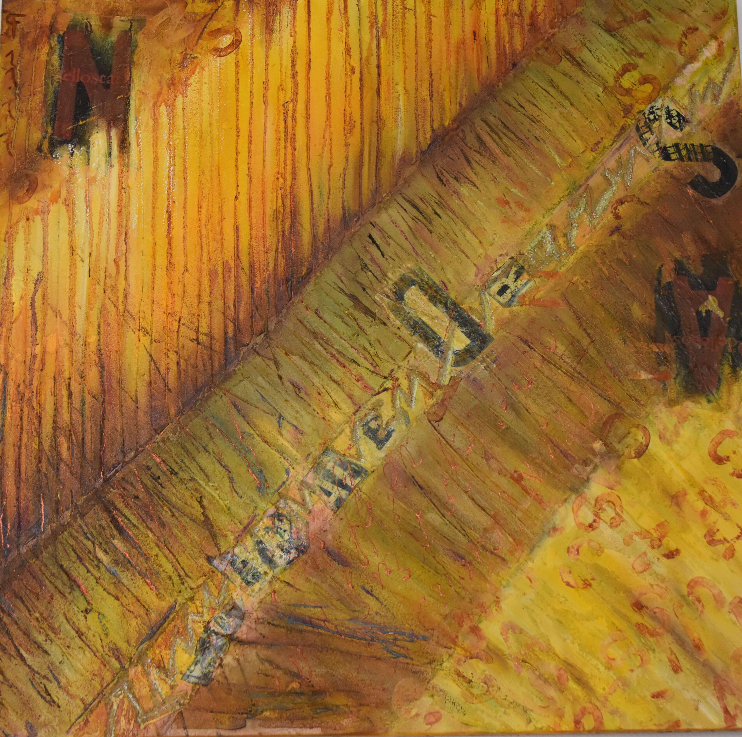Peintures abstraites – Rosanne Fioravanti